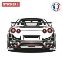 sticker supercar japonaise