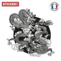 Sticker Tatouage Dragon