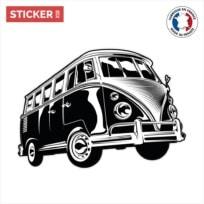 Sticker Volkswagen Combi