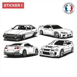 Stickers Classic Cars