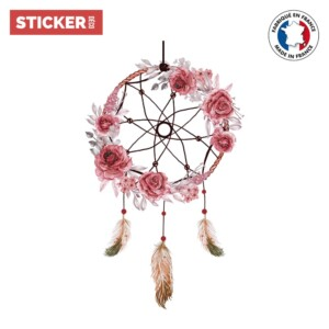 Sticker Attrape Reves Roses