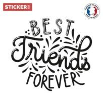 Sticker Citation Best Friends Forever