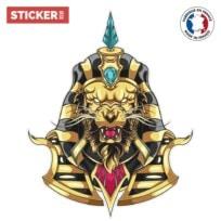 Sticker Lion D'Egypte