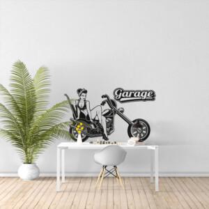 Sticker Moto Garage