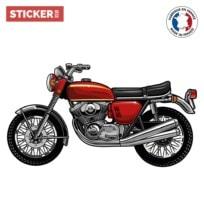 Sticker Moto Vintage