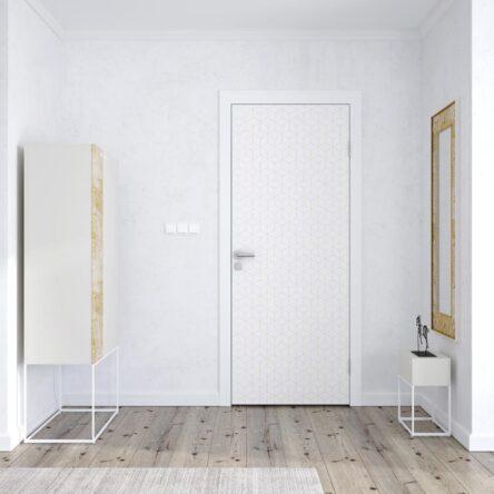 Sticker Porte Cube Retro