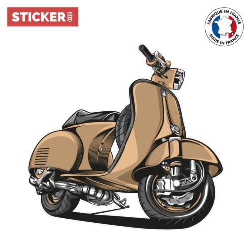 Sticker Scooter Retro