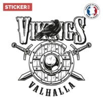 Sticker Viking Valhalla
