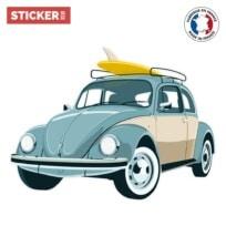 Sticker Voiture Summer Trip