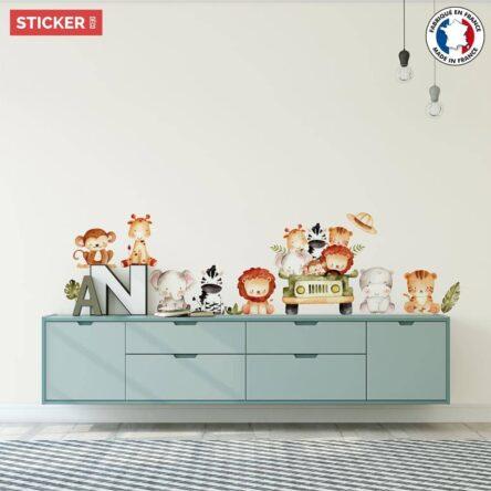 Stickers Animaux de Safari