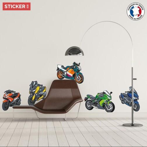Stickers Motos