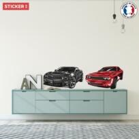 Stickers Voitures Chevrolet Camaro