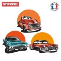 Stickers Voitures Vintage