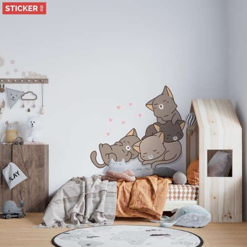 Stickers Chatons Mignons