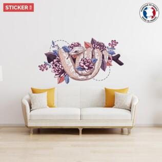 Sticker Serpent Dessin